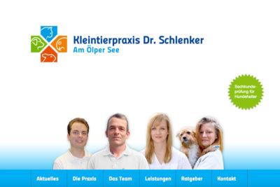 Website Referenz Kleintierpraxis Dr. Schlenker