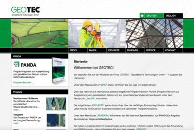 Website Referenz Geotec