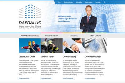 Website Referenz Daedalus