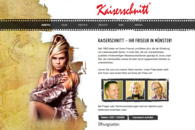 Website Referenz Kaiserschnitt