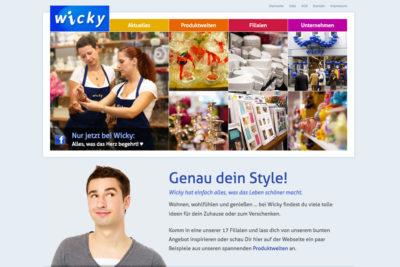 Website Referenz Wicky