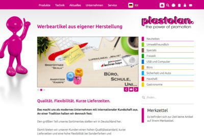 Website Referenz Plastolan