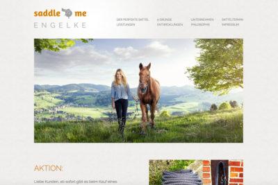 Website Referenz Saddle me