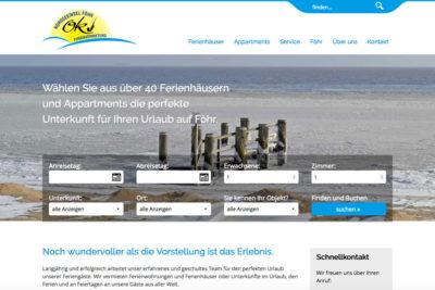 Website Referenz OK Vermietung