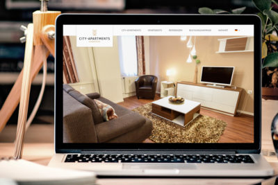 Website-Referenz City-Apartments