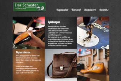 Website Referenz Der Schuster in Wunstorf
