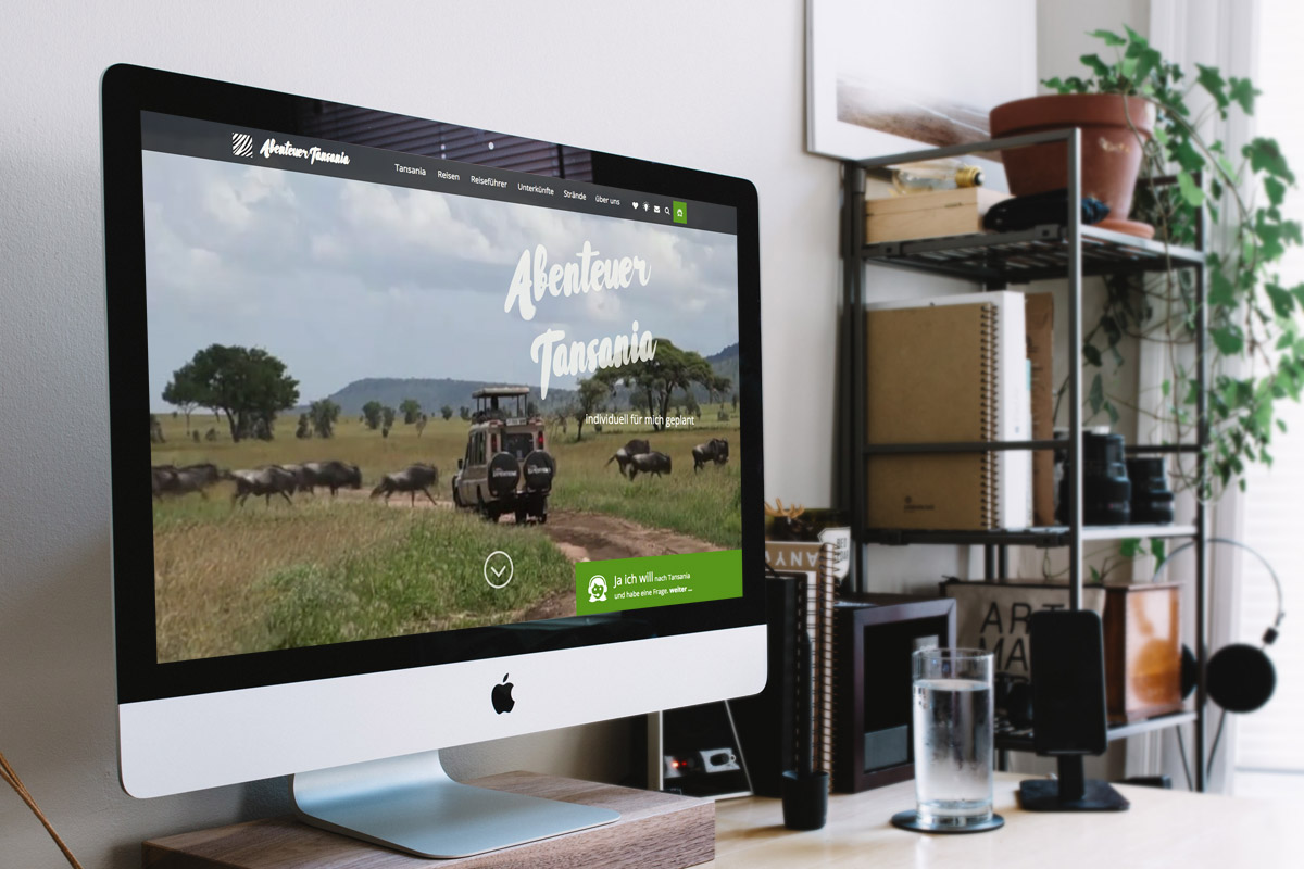 Website-Referenz Abenteuer Tansania
