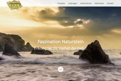 Website Referenz N-SB Naturstein