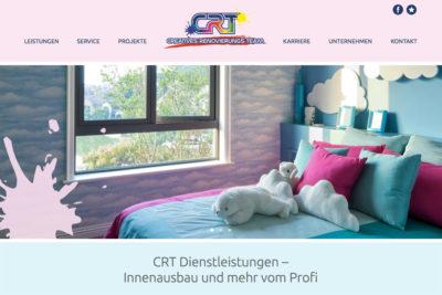 Website Referenz CRT Dienstleistungen