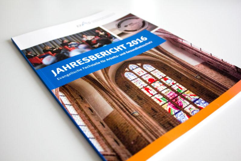 Print-Referenz EFAS Jahresbericht