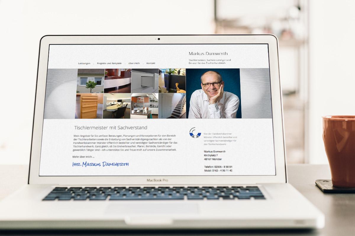 Website-Referenz Markus Damwerth