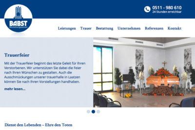 babst-bestattungen-website