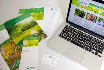 Corporate Design Referenz Bremermann Gesundheitsdienste