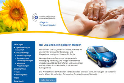 communitas-curae-website