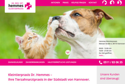 kleintierpraxis-hemmes-website