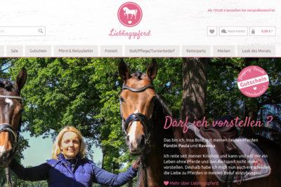 lieblingspferd-website