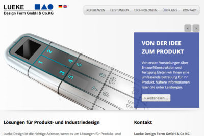 lueke-design-website