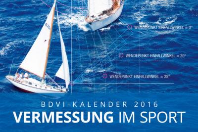 Vermessung im Sport – der BDVI-Kalender 2016 Abbildung