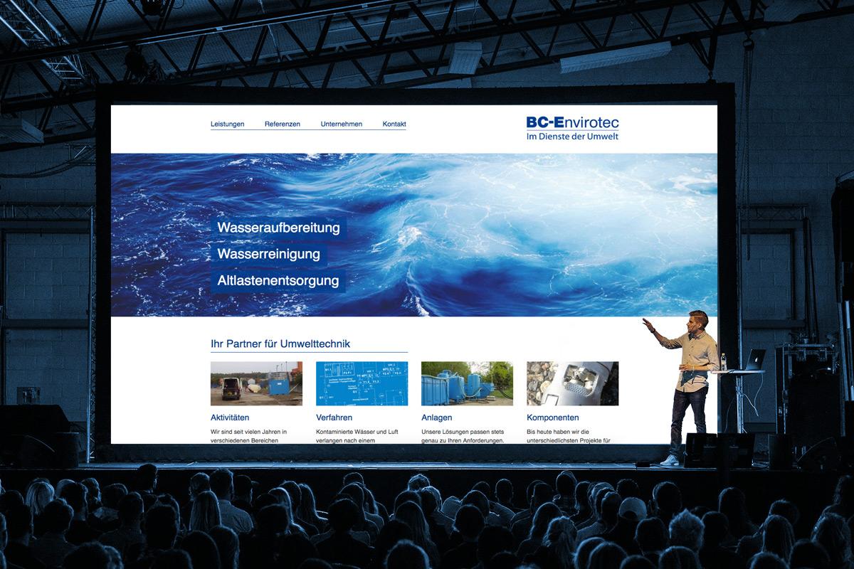 Website Referenz BC-Envirotec