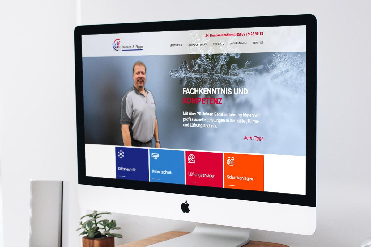 Website-Referenz Donath & Figge
