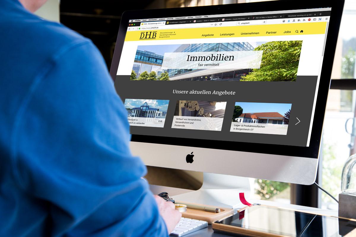 Website-Referenz DHB