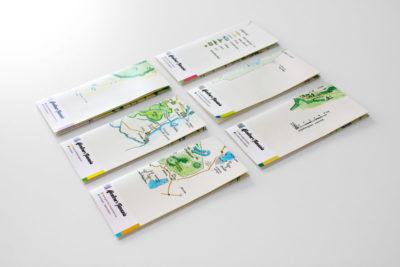 """Handgezeichnete Landkarten für """"Abenteuer Tansania"""" Abbildung"""