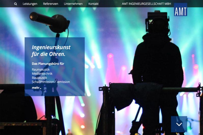 Web-Referenz AMT Ingenieurgesellschaft