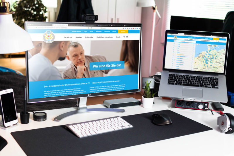 Website-Referenz AdP