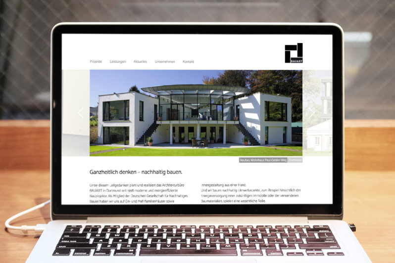 Website-Referenz Bauart