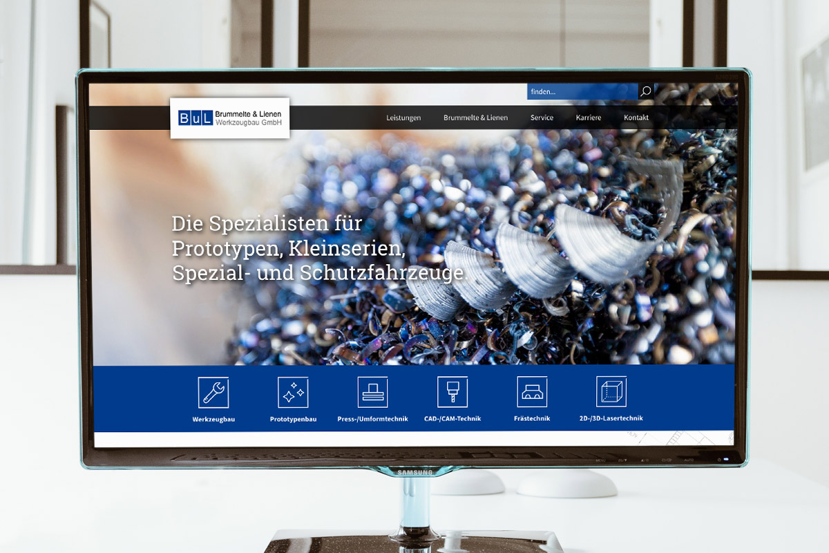 Website-Referenz Brummelte & Lienen