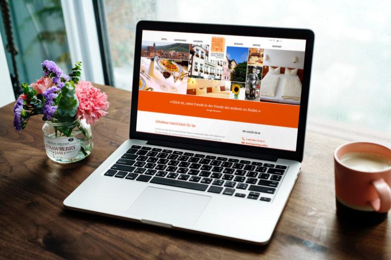 Website-Referenz Hotel Schlosschänke