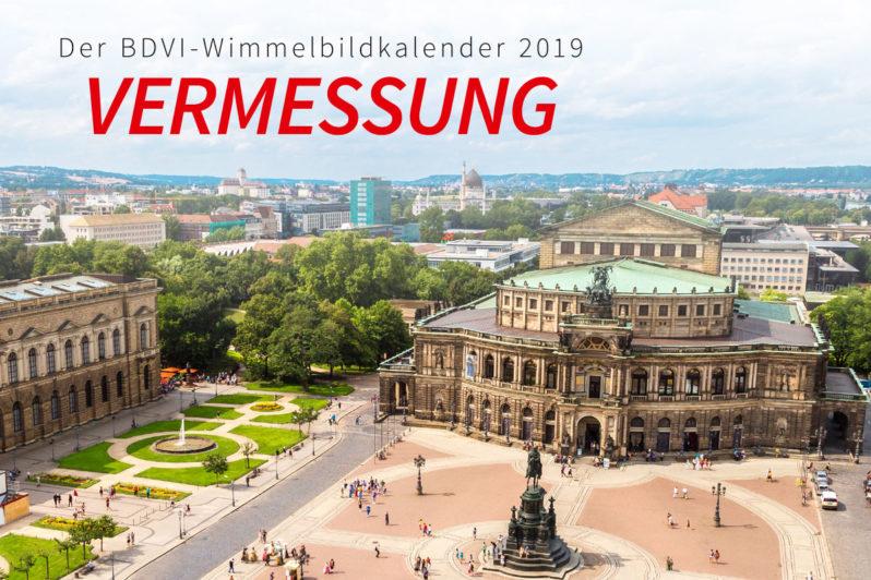 BDVI-Wimmelbildkalender 2019 – Vermessung