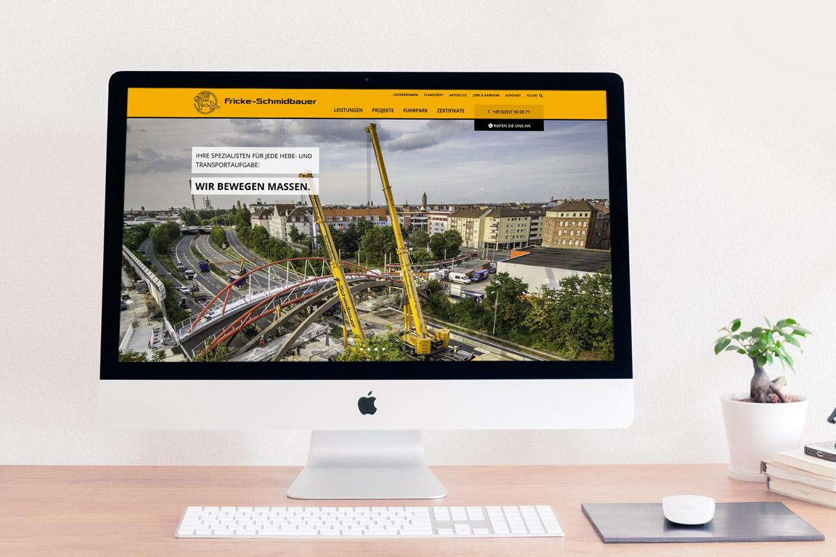 Website-Referenz Fricke Schmidbauer