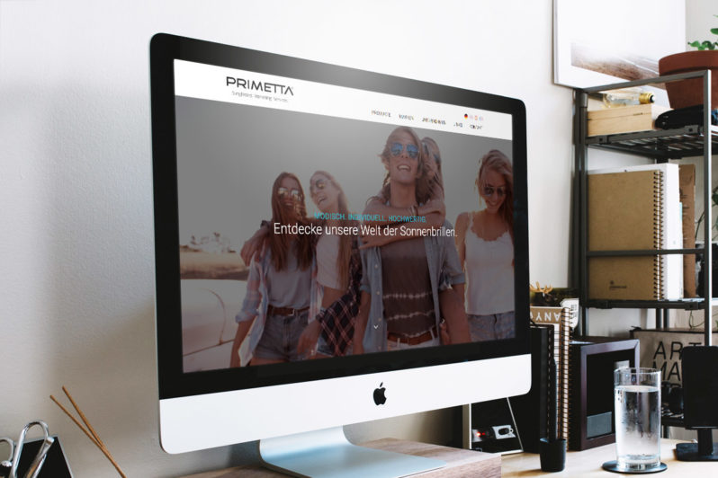 Website-Referenz Primetta