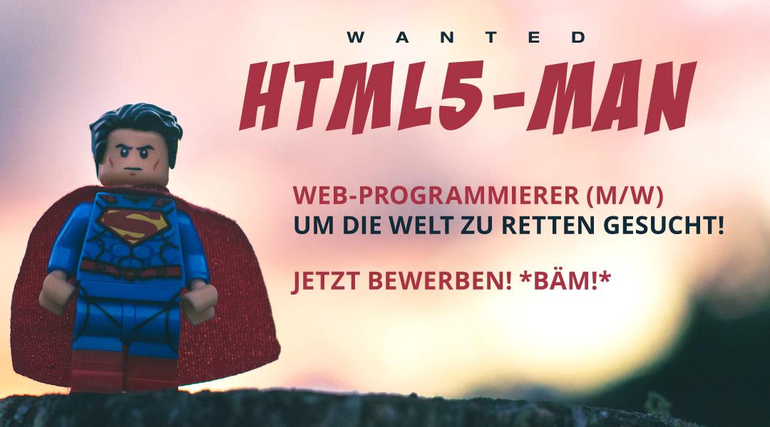 Webprogrammierer gesucht