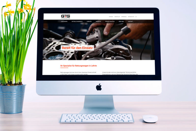 Website-Referenz G&G Automobilhandels GmbH