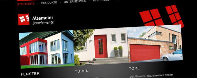 Fenster, Türen, Tore –Altemeier
