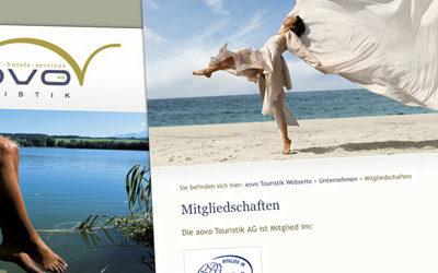aovo Touristik mit neuer Internet-Präsenz Abbildung