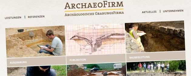 Archaeofirm – Geschichte (be)greifbar machen