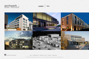 archwerk Website Referenz