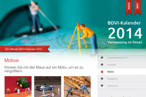 BDVI-Kalender 2014 Website Referenz