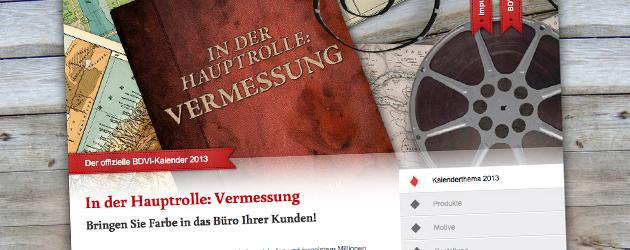 Der BDVI-Kalender 2013 – Jetzt bestellen!