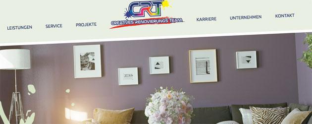 Kreativer Innenausbau mit CRT Dienstleistungen