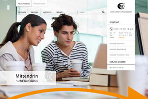 Conti Versicherungsdienst Website Referenz