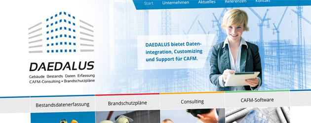 Daedalus – Gebäude Bestands Daten Erfassung