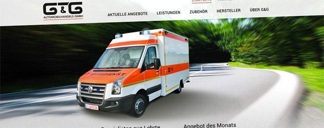 Aufbereitete Rettungswagen aus Lehrte