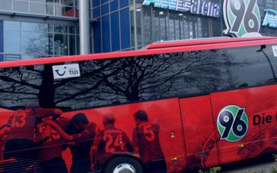Online-Shop für Hannover 96 Auswärtskarten Abbildung