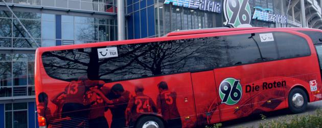 Online-Shop für Hannover 96 Auswärtskarten