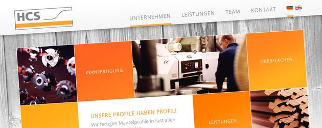 Webdesign mit Profil