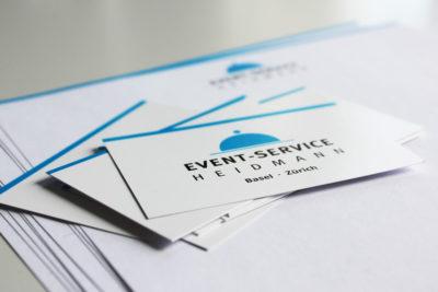 Visitenkarten und Briefpapier Heidmann